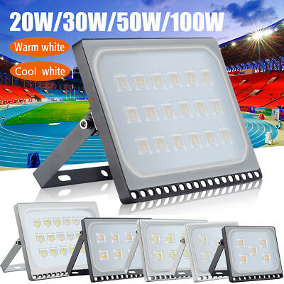 10W/20W/30W/50W/100W/150W LED Floodlight Outdoor Garden Landscape Wall Spot Lamp