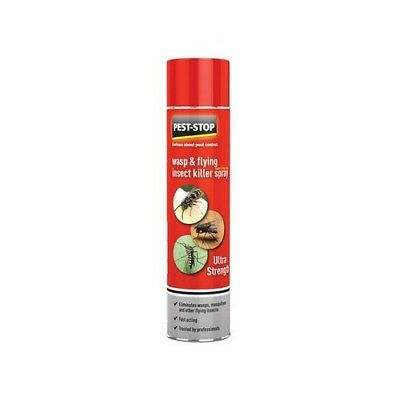 Pest-Stop Systems PSWFIK Wasp & Flying Insect Killer Spray 300ml
