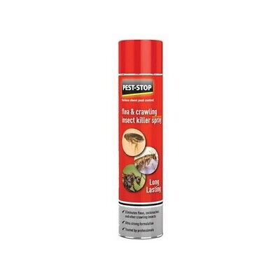 Pest-Stop Systems PSFCIK Flea & Crawling Insect Killer Spray 300ml