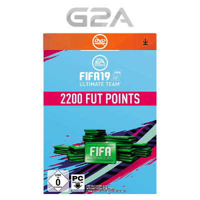 FIFA 19 2200 FUT Points Key - EA ORIGIN Fifa Ultimate Team Code - 2,200 [PC]