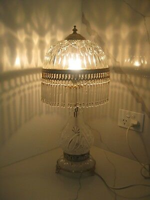 1940's French Dome Parlor Lamp