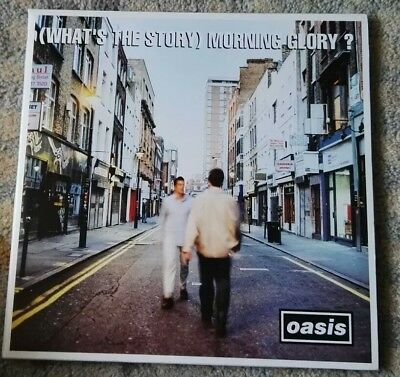 "OASIS ""What's the Story Morning Glory"" 1st PRESS VINYL Noel Liam Gallagher 1995"
