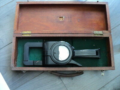 Vintage Ferranti Ac Clip-On Ammeter With Wooden Box Not Tested