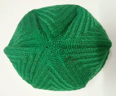 3 pcs X moroccan hand knitted hats.topi.skull cap. made in morocco. small size