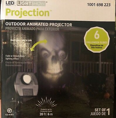 led lightshow animated projector