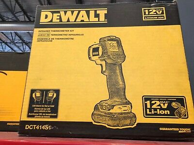DeWALT Infrared Thermometer Kit DCT414S1