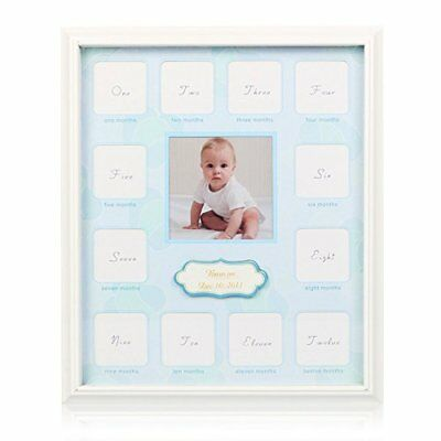 Collage Photo Frame for Baby First Year Keepsake 12 Months Picture Frames Boy 13