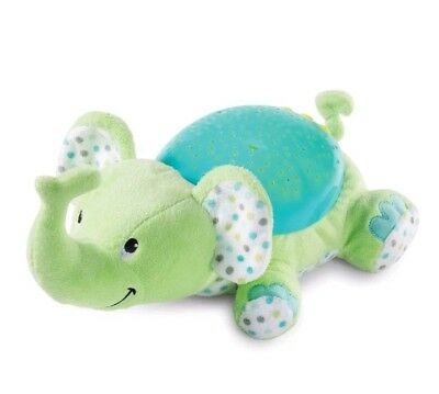 Summer Infant Slumber Buddies Green Elephant Night Light Show Music Soothing