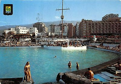 Spain Puerto de la Crue (Tenerife) Piscinas Costa Martianez Swimming Pools