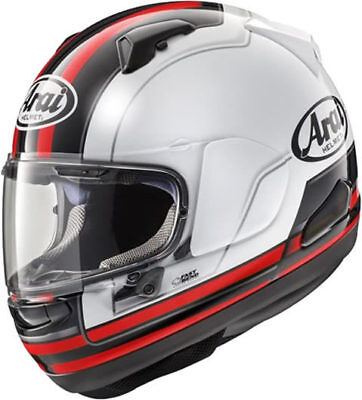 Arai Qv Stint Red Motorcycle Helmet - Medium
