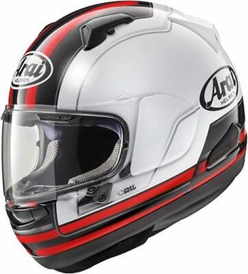 Arai Qv Stint Red Motorcycle Helmet - Large