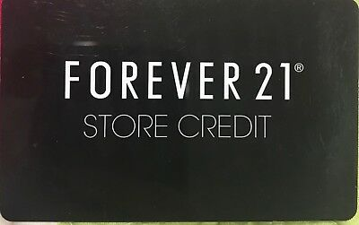 Forever 21 Store Credit Gfit Card $35.55 Value