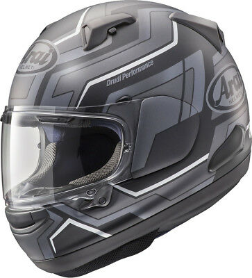 Arai Qv Place Black Motorcycle Helmet - Medium