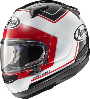 Arai Qv Triple White Motorcycle Helmet - Medium