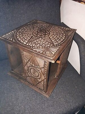 Antique  Rotating Table Top  Book Case