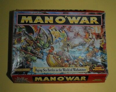 Games Workshop, Man O War , 1993, Complete. Partially Unpunched