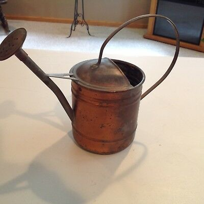 Vintage Copper Small Watering Pot/Sprinkling Can