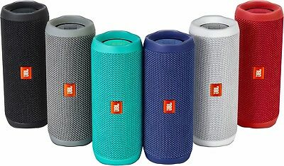 JBL Flip 4 Portable Bluetooth Speaker with Protective Hard Cover Case
