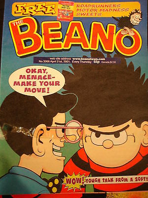 Beano Comic 3066 April 21st 2001