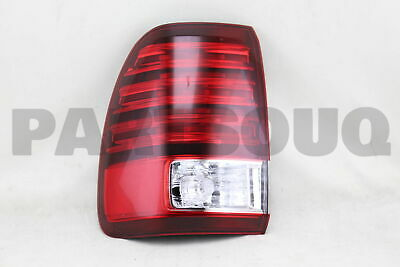 8156160691 Genuine Toyota LENS & BODY, REAR COMBINATION LAMP, LH 81561-60691