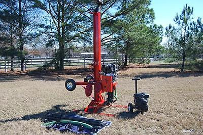 Water Well Drilling Rig Drill Equipment Driller Tool DIY Boring Clean Water Pump