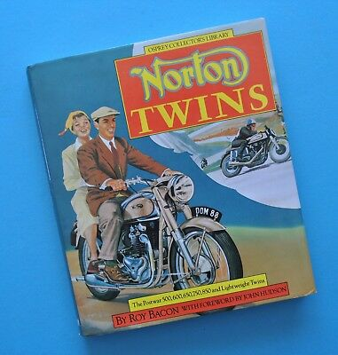 Norton Twins Motorcycle Book Roy Bacon Commando Dominator 77 88 99 Featherbed
