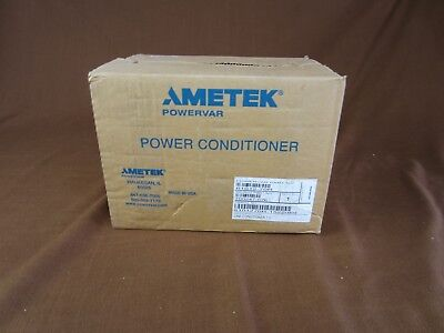 NIB Ametek Powervar Power Conditioner 61012-70r