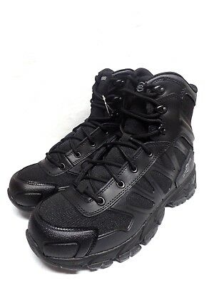 e7f94262059 MEN'S INTERCEPTOR BLACK Tactical Ankle Boot Patrol Shoes