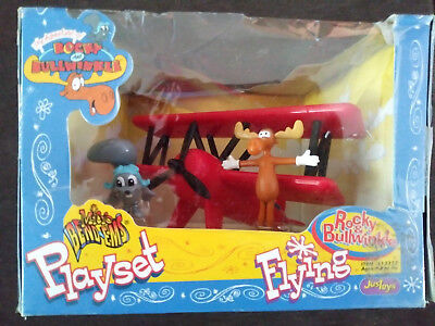 Rocky and Bullwinkle Playset Flying B1