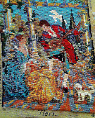 Large 100% Wool Tapestry - Vivid Colours - Unframed