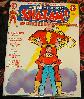 Limited Collectors' Edition #C-21, DC 1973 Shazam NM copy--Scarce in High Grade