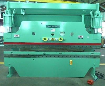 "12' OAL Cincinnati Model 135CBx10FT, 135 Ton, Hydraulic (10'x3/16"") Press Brake"