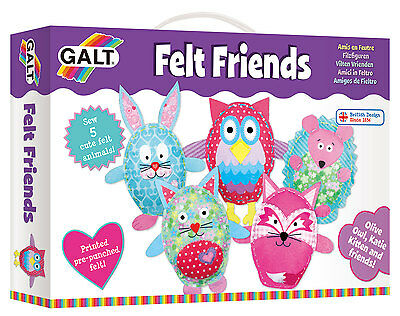 Galt Toys  Creative Cases Felt Friends Sewing Kit - FREE & FAST DELIVERY