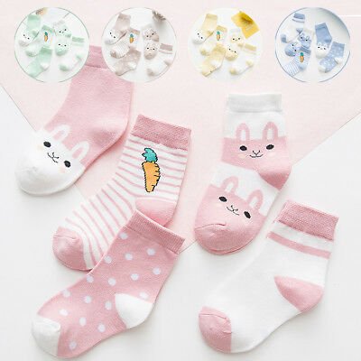 Cute Baby Socks Cartoon Cotton Socks NewBorn Infant Toddler Socks 0-6Y Boy Girl
