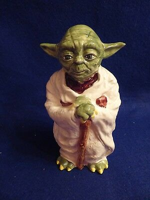 Vintage Star Wars Empire Strikes Back Yoda Bank Ceramic Sigma MIB 1982 ESB