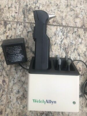 Welch Allyn 23300 Audioscope Portable Screening Audiometer W/ Charging Base