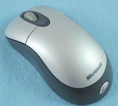 2a12e5c6920 Microsoft Standard Wireless Optical Mouse 2000 Silver Gray MISSING RECEIVER