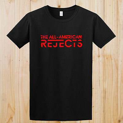 The All American Rejects Logo Kids in the Street Black Tees S to 3XL T-Shirt NEW