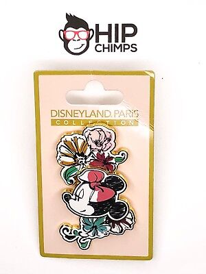 Minnie Mouse Disneyland Paris Collection Authentic Pin