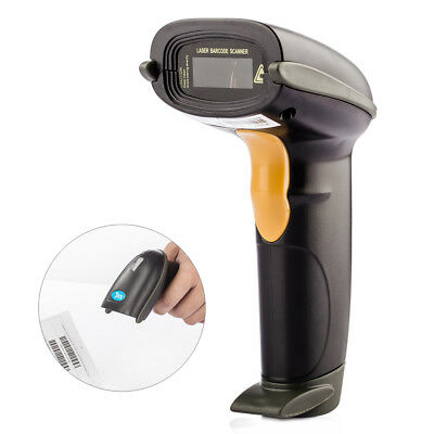 433MHZ Wireless Handheld USB 1D Barcode Scanner with Long Transmission