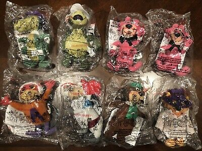 Dairy Queen Classic Toons - Hanna-Barbera Plush Toys - 8 PCS