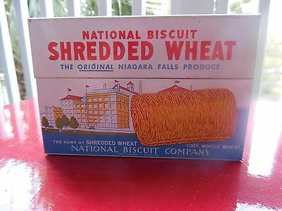 1970's Shredded Wheat Recipe Box