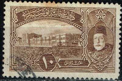 Ottoman Empire WW1 classic stamp Sultan Mohammed 1916