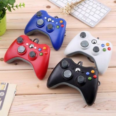 USB Wired Dual Shock Gamepad Controller for Xbox 360 and PC Windows Accessories