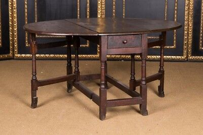 Original English Pembroke Table Table Folding Table 17 18. Century