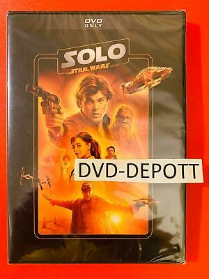 Solo: A Star Wars Story DVD {{AUTHENTIC WITH DISNEY MOVIE REWARDS READ}} New