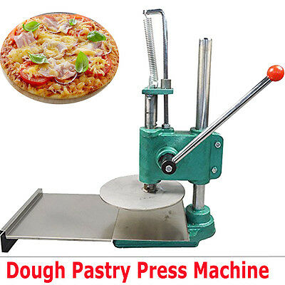 Manual Household Pizza Dough Pastry Manual Press Machine Sheeter Pasta 7.87inch