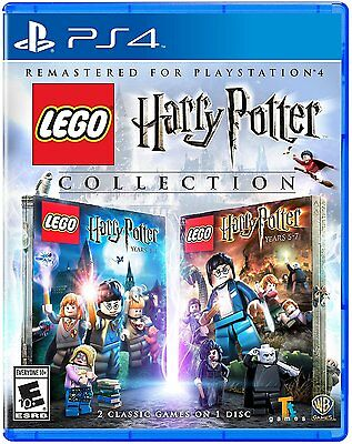 NEW LEGO Harry Potter Collection (Sony PlayStation 4, 2016)