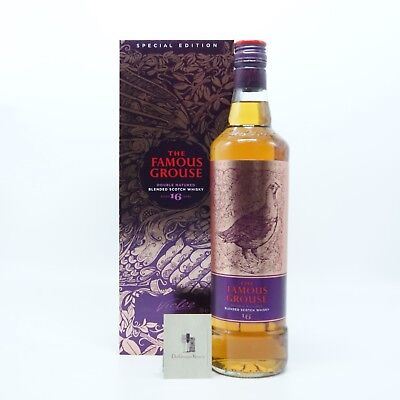 The Famous Grouse 16 Jahre + Geschenkverpackung,Blended Scotch Whisky, 0,7l, 40%