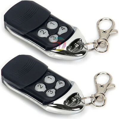 2x Remote Control Compatible For ATA PTX-4 SecuraCode Garage Door Replacement